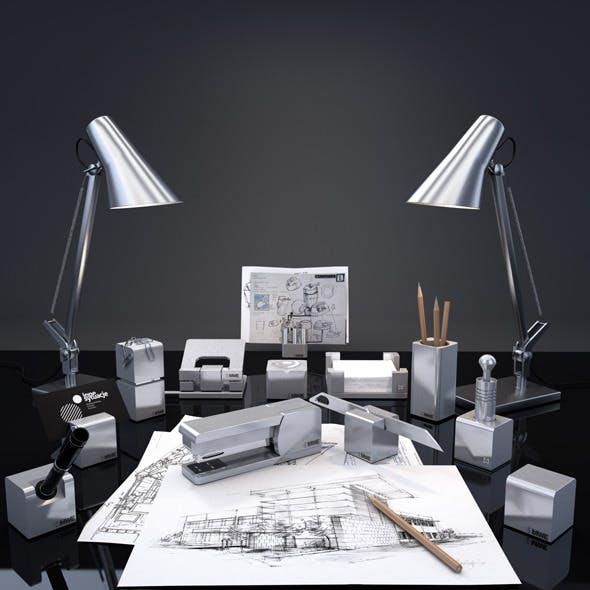 MWE writing desk series Siena - 3DOcean Item for Sale