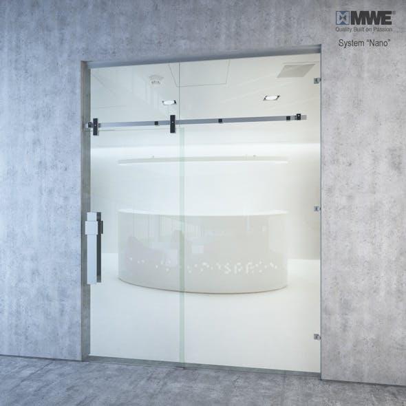 MWE Nano Sliding door system - 3DOcean Item for Sale