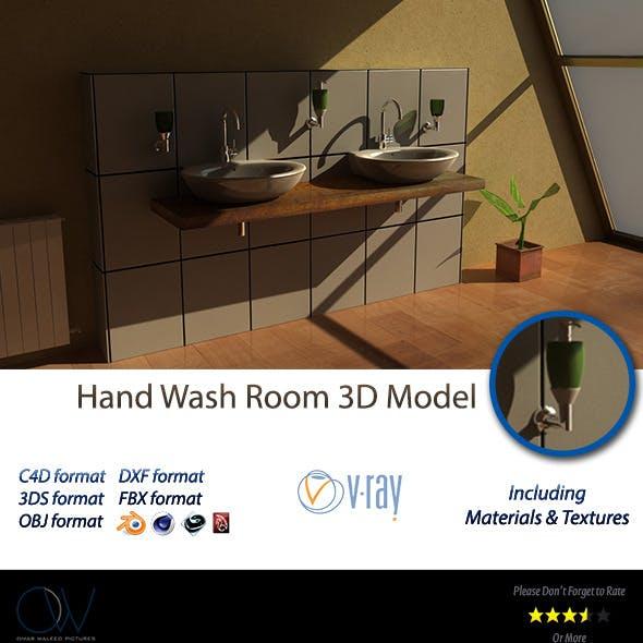 Hand Wash 3D Model