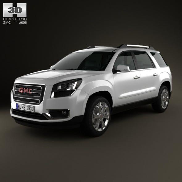 GMC Acadia 2013 - 3DOcean Item for Sale