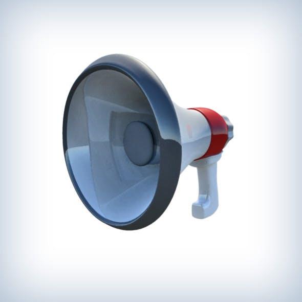 Loudspeaker - 3DOcean Item for Sale