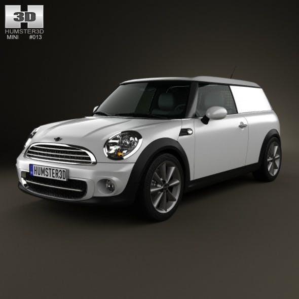 Mini Clubvan 2013  - 3DOcean Item for Sale