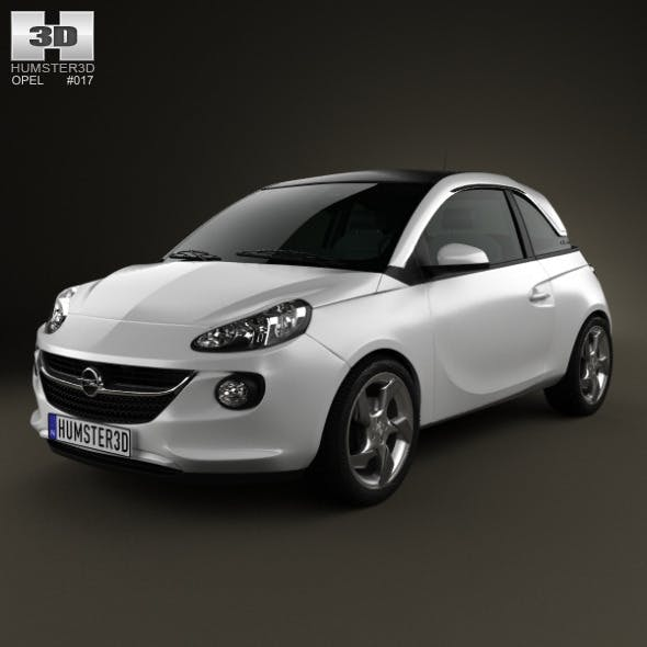Opel Adam 2013 - 3DOcean Item for Sale