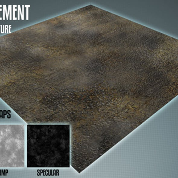 Tileable Grungy Pavement Texture