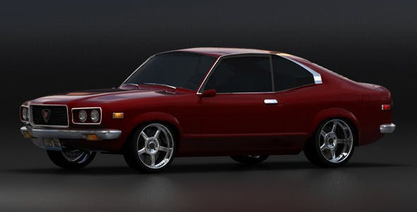 Mazda Savanna GT RX-3 (1975) - 3DOcean Item for Sale