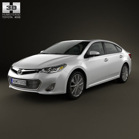 Toyota Avalon (XX40) 2013 - 3DOcean Item for Sale