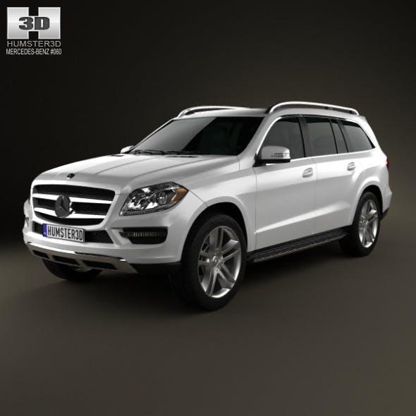 Mercedes-Benz GL-Class X166 2013 - 3DOcean Item for Sale