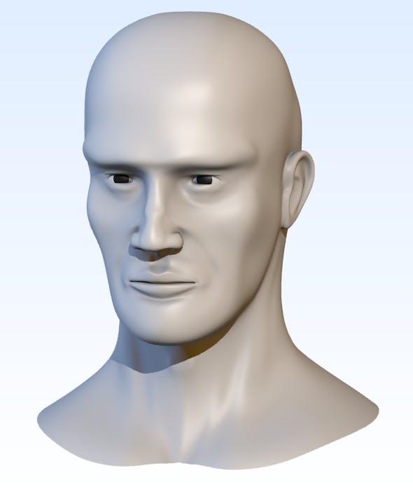 Head base mesh - 3DOcean Item for Sale