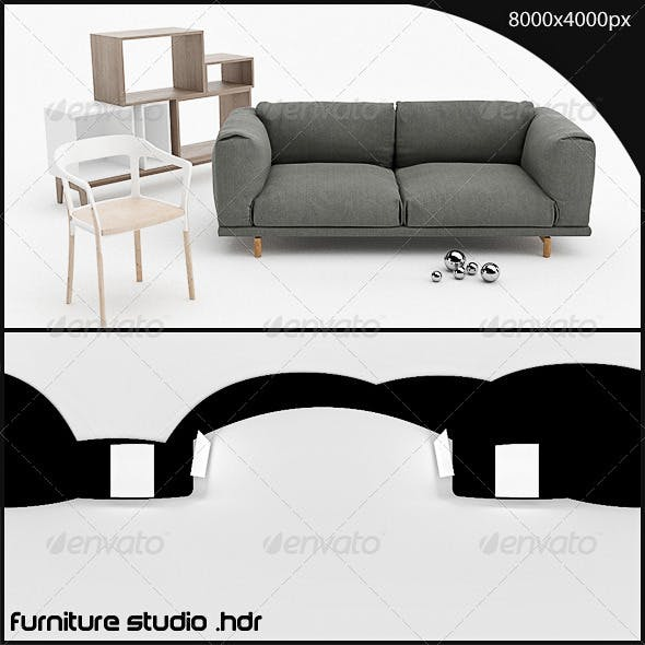 furniture studio HDR - 3DOcean Item for Sale