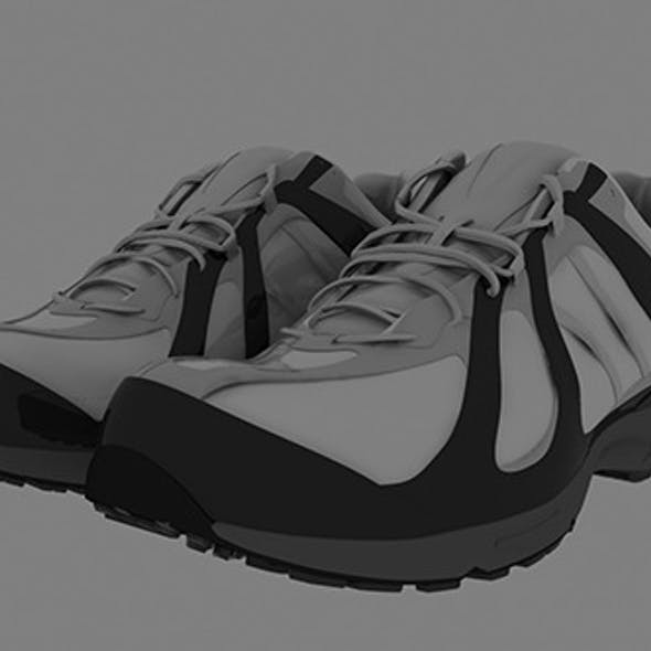 Realistic Sports Shoe Model