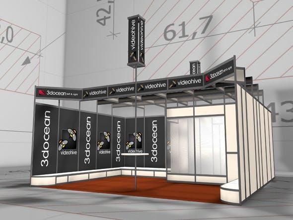 Amaizing Exhibition Pavilion 2 - 3DOcean Item for Sale