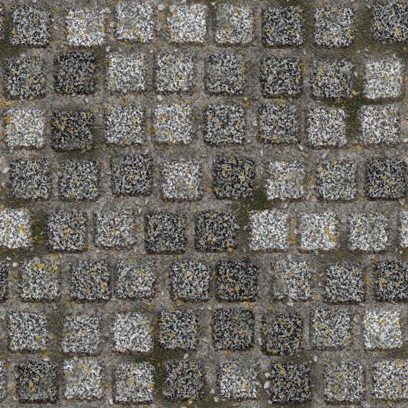 Granite Pavement 1 - 3DOcean Item for Sale