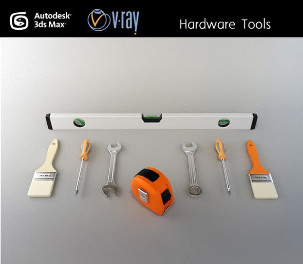 Hardware tools - 3DOcean Item for Sale