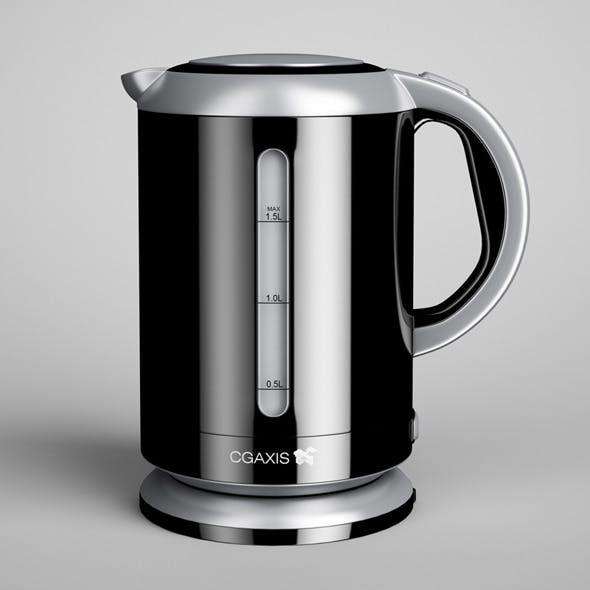 CGAxis Electric Kettle 01