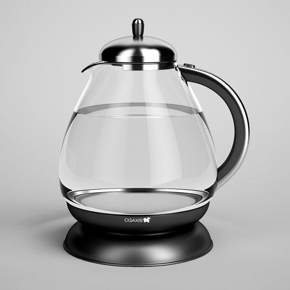 CGAxis Electric Kettle 03
