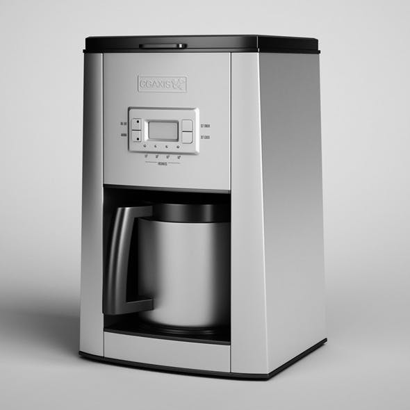 CGAxis Electric Coffee Maker 06