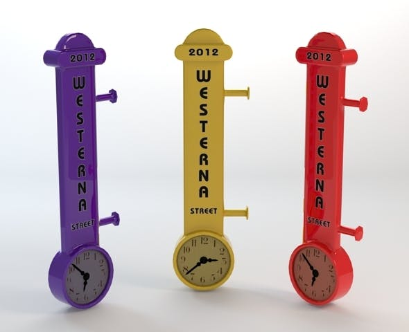 Modern Wall Clock  - 3DOcean Item for Sale