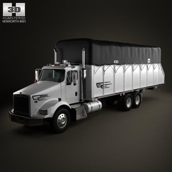 Kenworth T800 Cotton Truck 2011 - 3DOcean Item for Sale