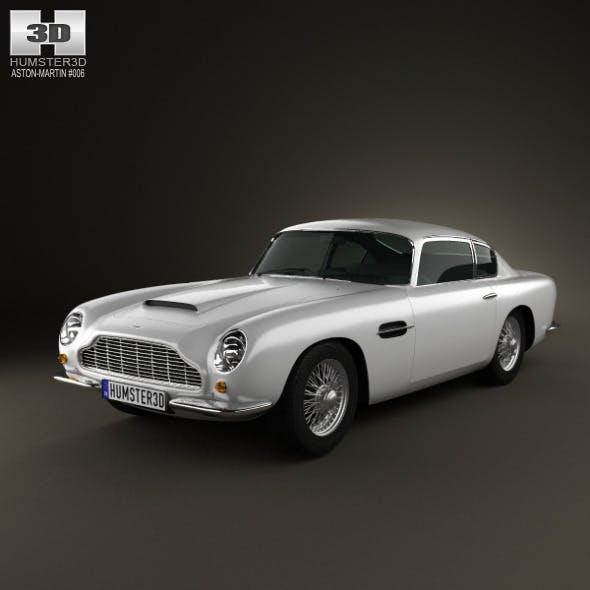 Aston Martin DB6 1965  - 3DOcean Item for Sale