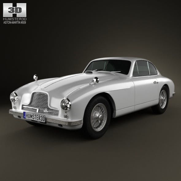 Aston Martin DB2 1950 - 3DOcean Item for Sale