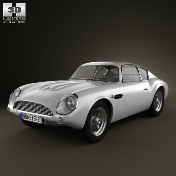 Aston Martin DB4 GT Zagato 1960 - 3DOcean Item for Sale