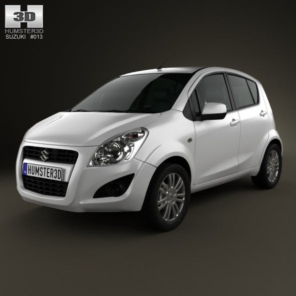Suzuki Splash (Ritz) 2012 - 3DOcean Item for Sale