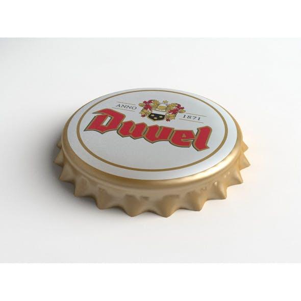 Duvel Beer Bottle Tin Cap