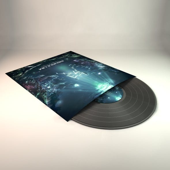 Vinyl Record - 3DOcean Item for Sale