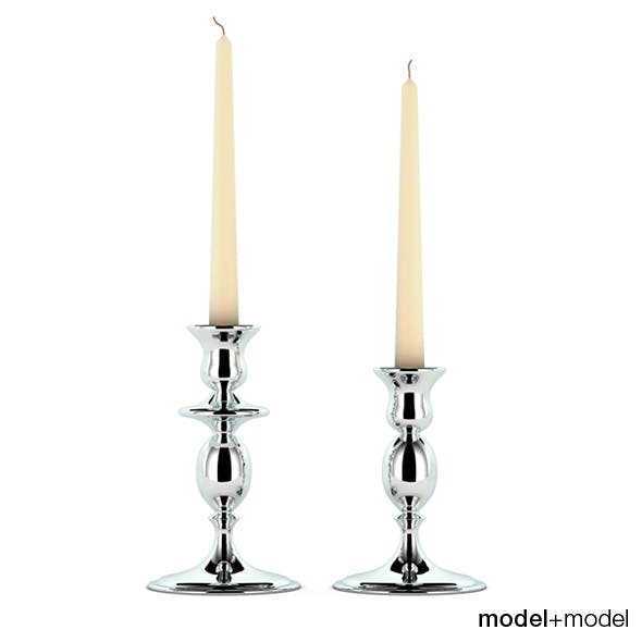 Cantori Milano candleholders - 3DOcean Item for Sale
