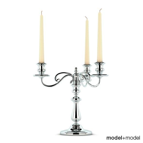 Christofle Albi candleholder - 3DOcean Item for Sale