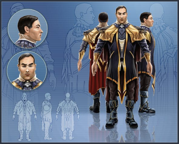 General Makiro - 3DOcean Item for Sale