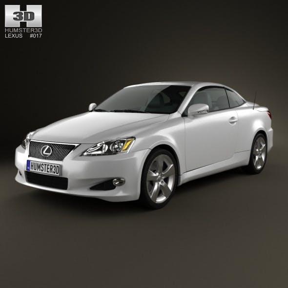 Lexus IS C (XE20) 2012 - 3DOcean Item for Sale