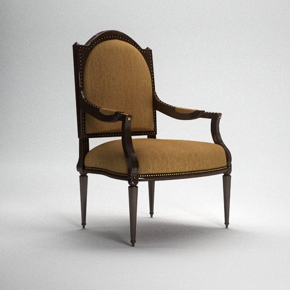 Classic Armchair with Complete Scene INCLUDED!