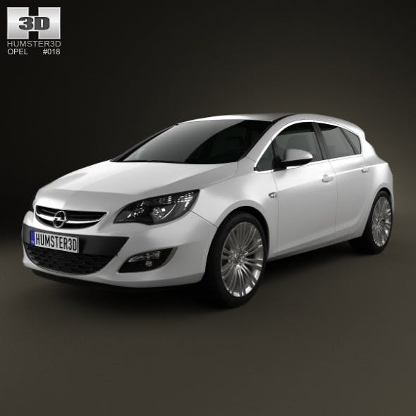 Opel Astra J hatchback 5-door 2012