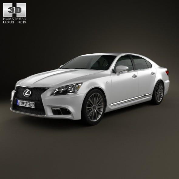 Lexus LS F sport (XF40) 2012