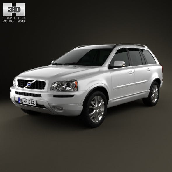 Volvo XC90 2012 - 3DOcean Item for Sale
