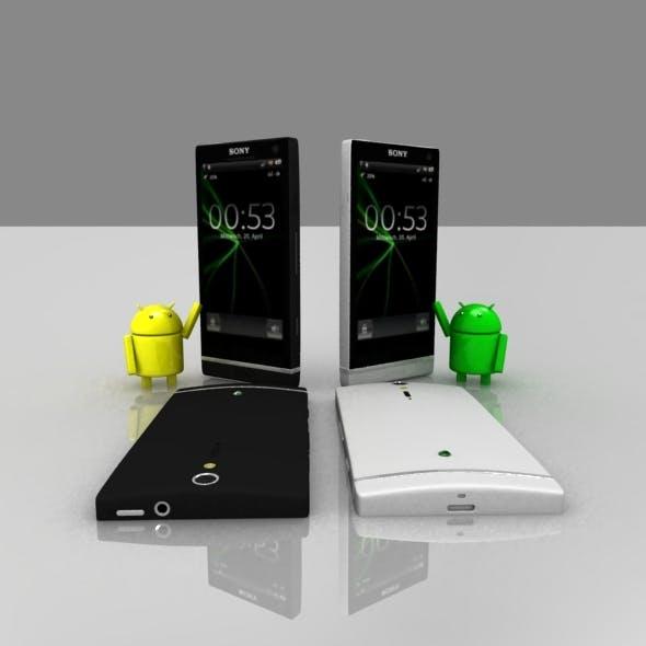 Sony Xperia S model