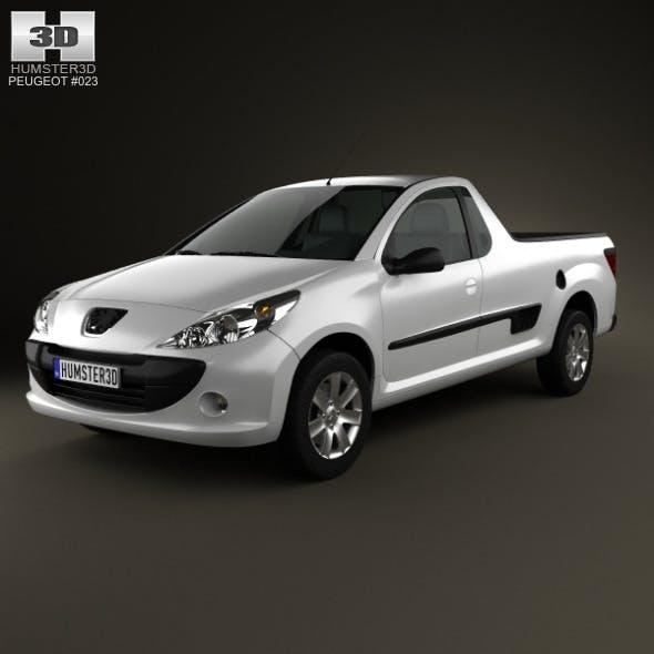 Peugeot Hoggar 2012 - 3DOcean Item for Sale