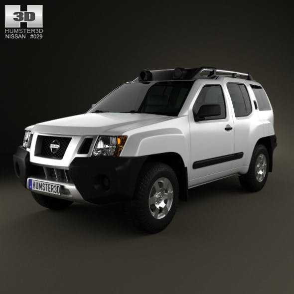 Nissan Xterra 2012 - 3DOcean Item for Sale