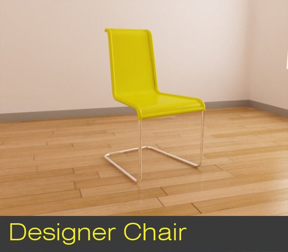 Designer Chair - 3DOcean Item for Sale