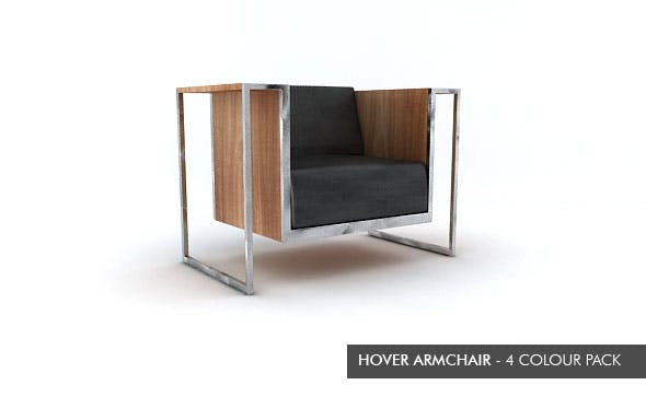 Hover Armchair - 3DOcean Item for Sale