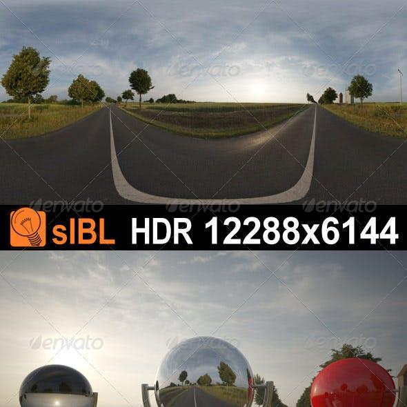 HDR 068 Road Sunrise sIBL