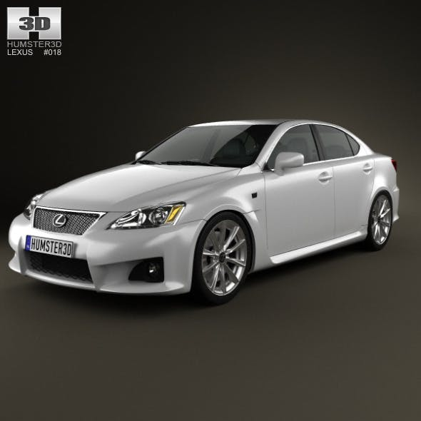 Lexus IS F (XE20) 2012 - 3DOcean Item for Sale