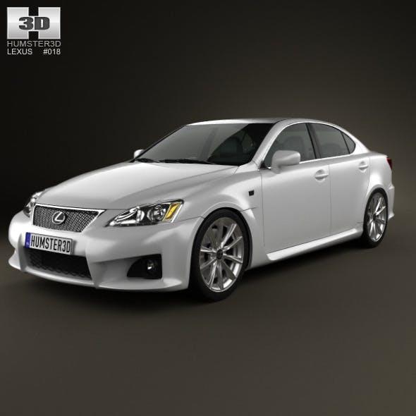 Lexus IS F (XE20) 2012