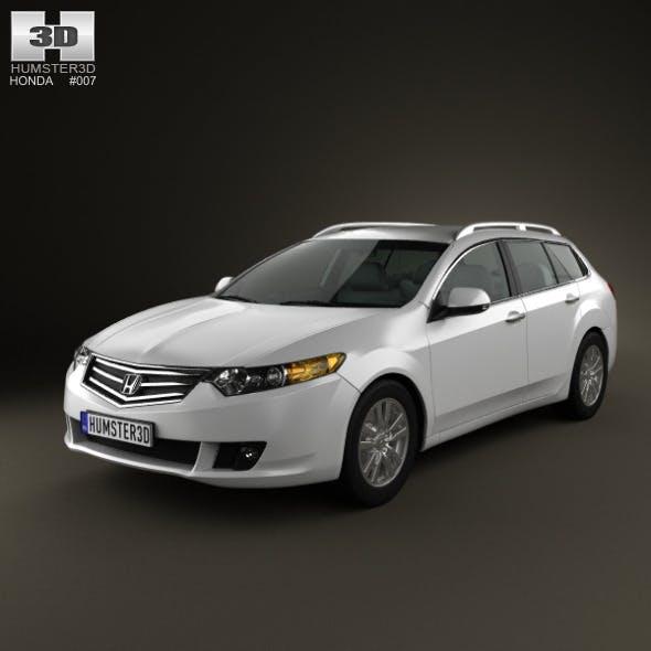 Honda Accord Tourer 2009 - 3DOcean Item for Sale
