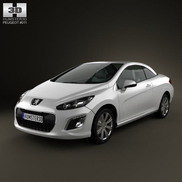 Peugeot 308 CC 2012 - 3DOcean Item for Sale