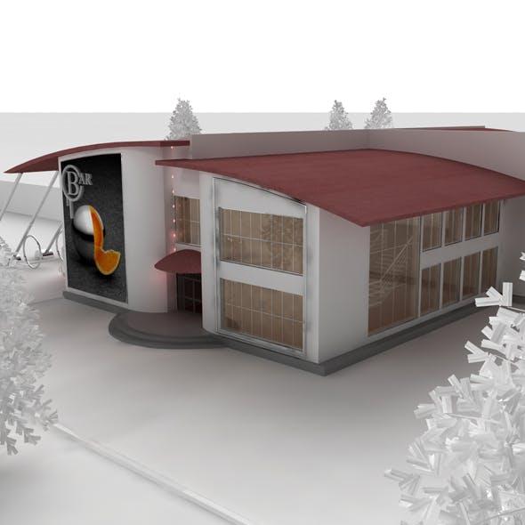 CAFE BAR - 3DOcean Item for Sale