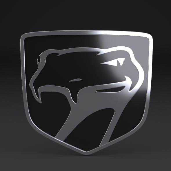 Dodge Viper Sneaky Pete logo - 3DOcean Item for Sale