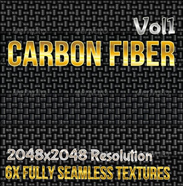 Carbon Fiber Vol1 - 3DOcean Item for Sale