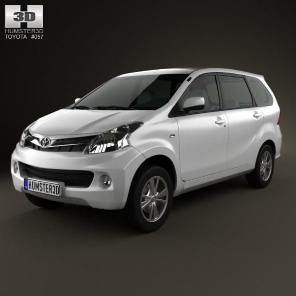 Toyota Avanza 2012 - 3DOcean Item for Sale